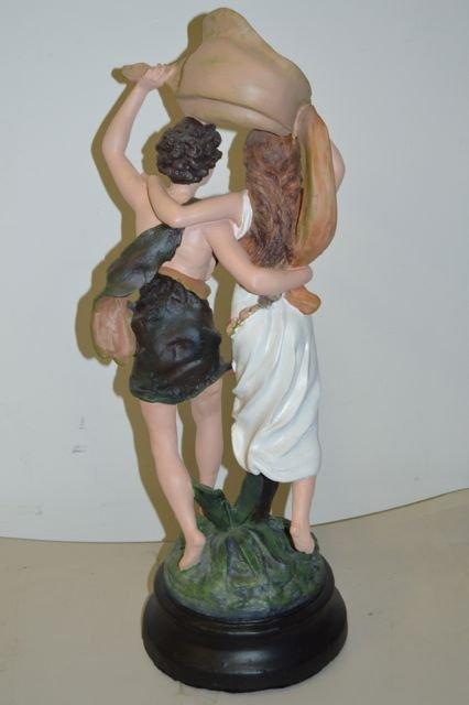 Pierre Auguste Cot: The Storm Statue - 3