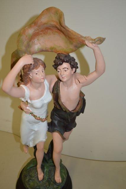 Pierre Auguste Cot: The Storm Statue - 6