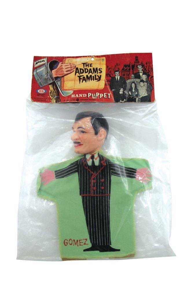 Gomez Addams Puppet with Original Header Card