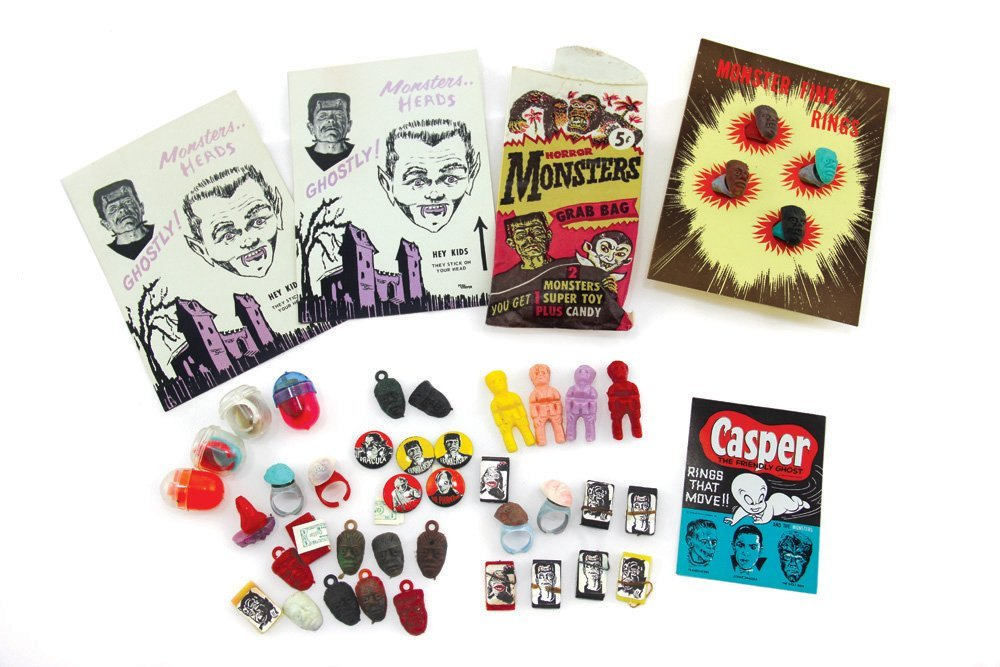 Monster Gumball Displays & Toys