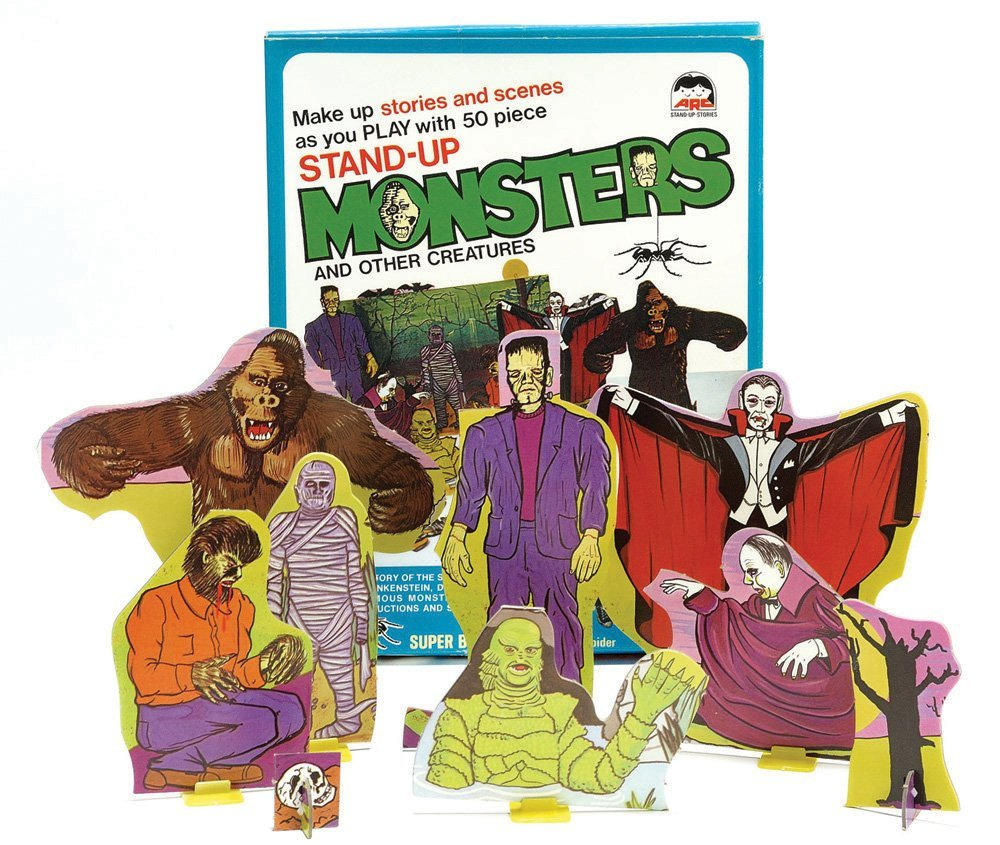 Famous Monsters of Filmland Story Play Set