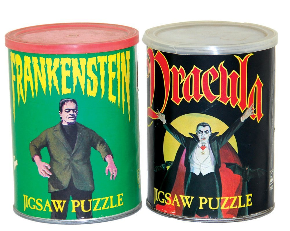 Frankenstein and Dracula Jigsaw Puzzles