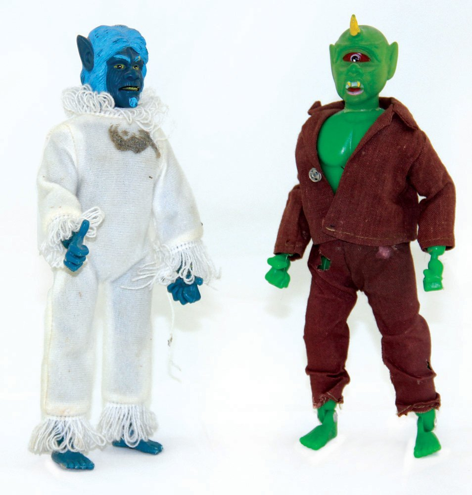 Cyclops & Abominable Snow Man Yeti Figures
