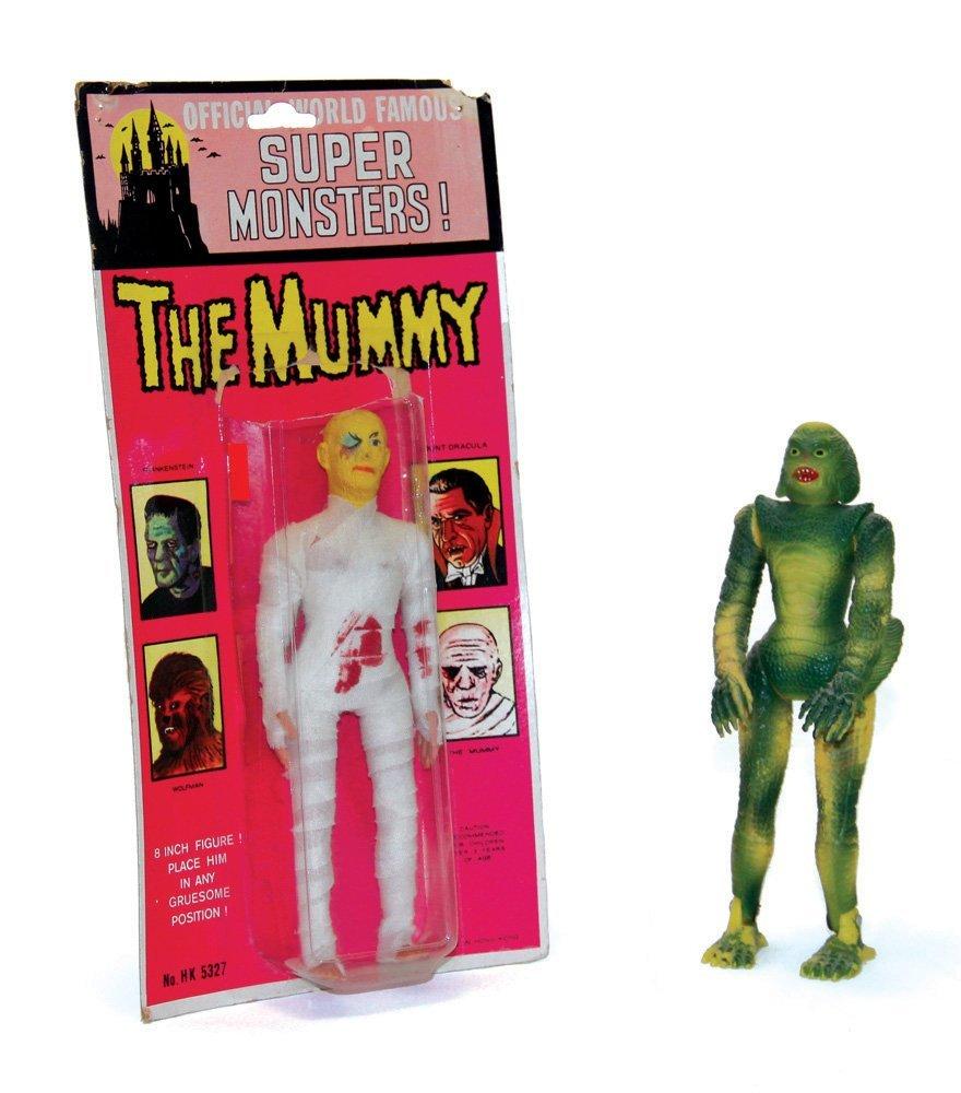 AHI Creature & Mummy Action Figures