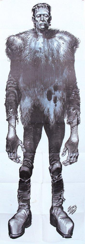 Jack Davis Frankenstein Poster