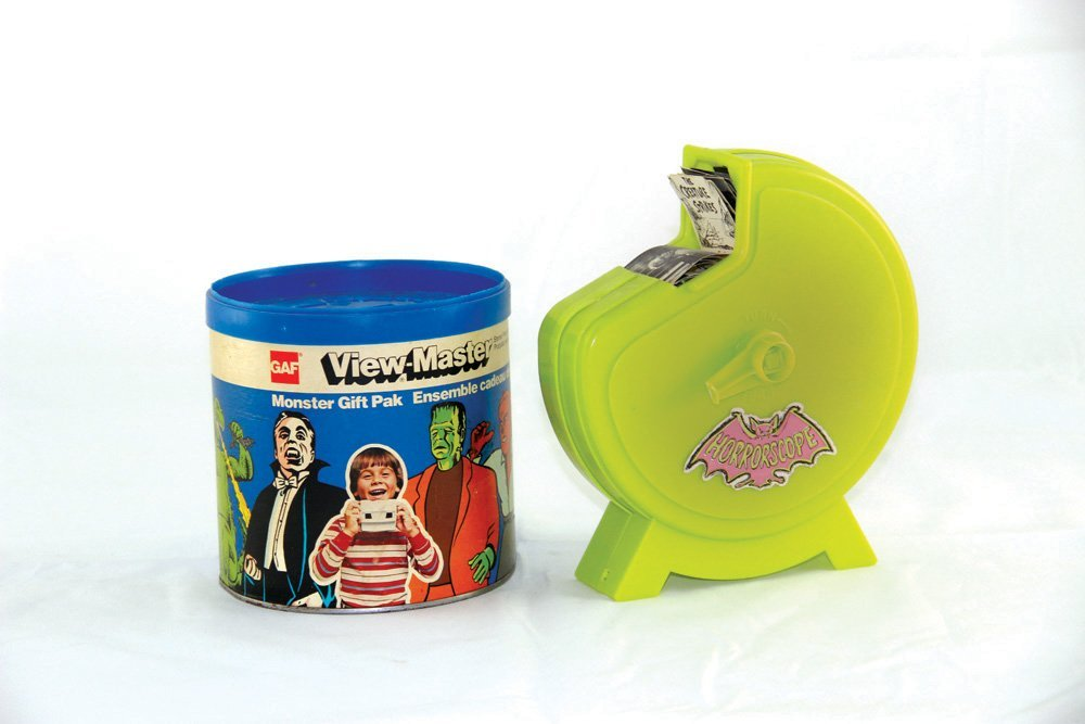 Vintage 1964 Horrorscope and View-Master Gift Pak