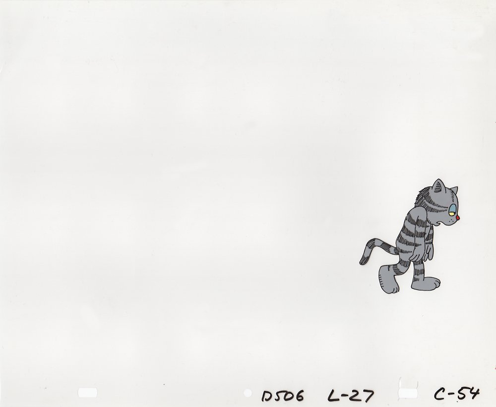 Production Cel of Fritz from Fritz the Cat