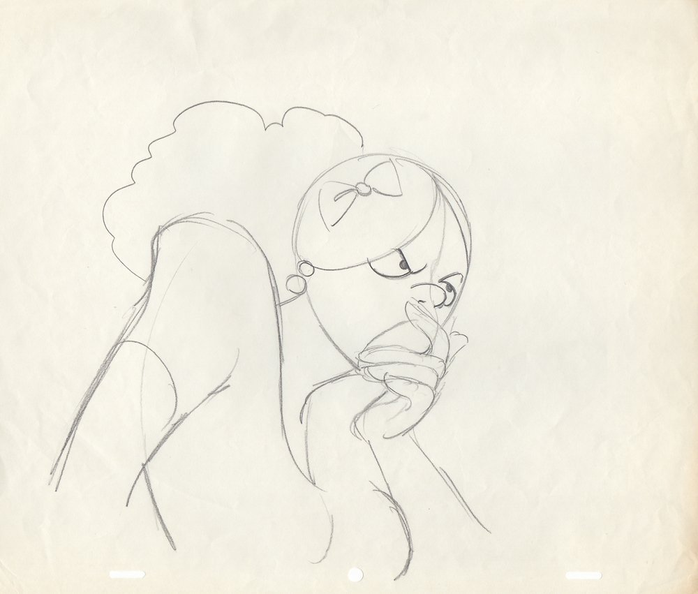 Original Production Drawing from Heavy Traffic