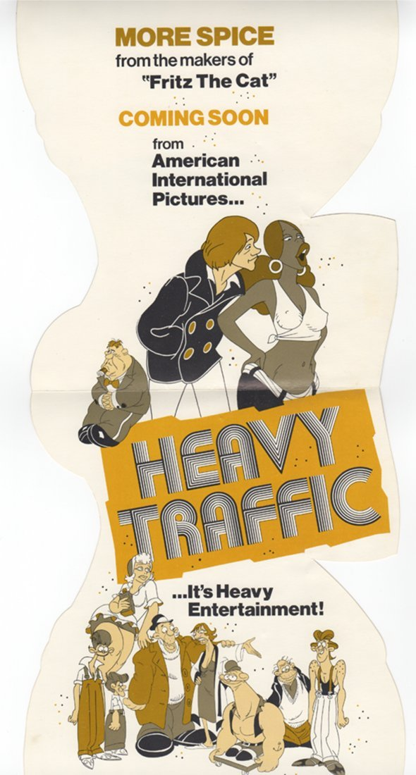 Three Movie Posters for Heavy Traffic
