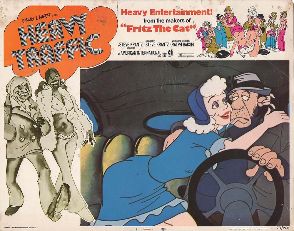 Heavy Traffic Lobby Cards
