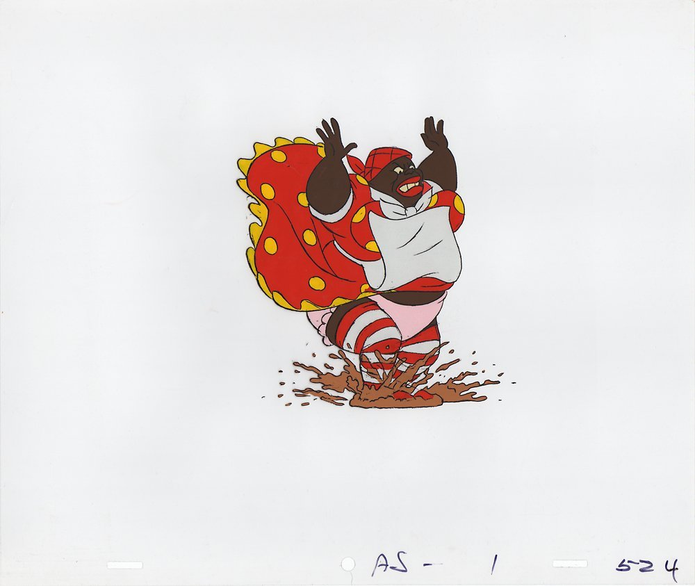 Production Cel of Aunt Jemima from Coonskin