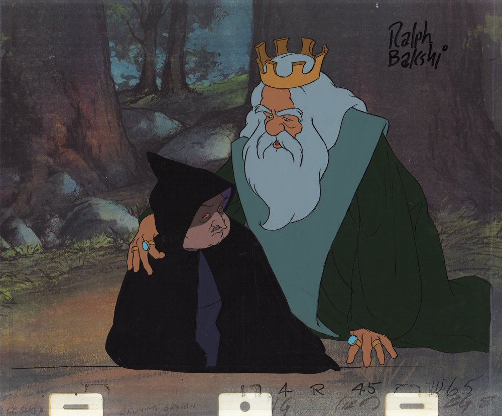 Cel of Theoden & Wormtongue - Lord of the Rings