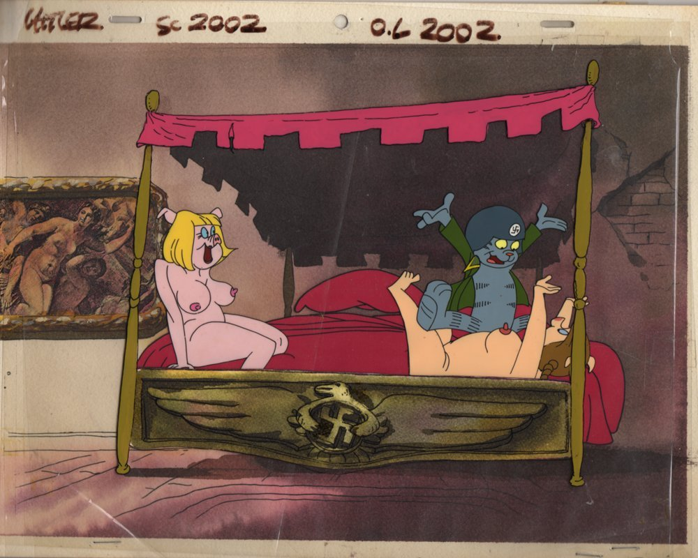 Production Cel from Nine Lives of Fritz the Cat