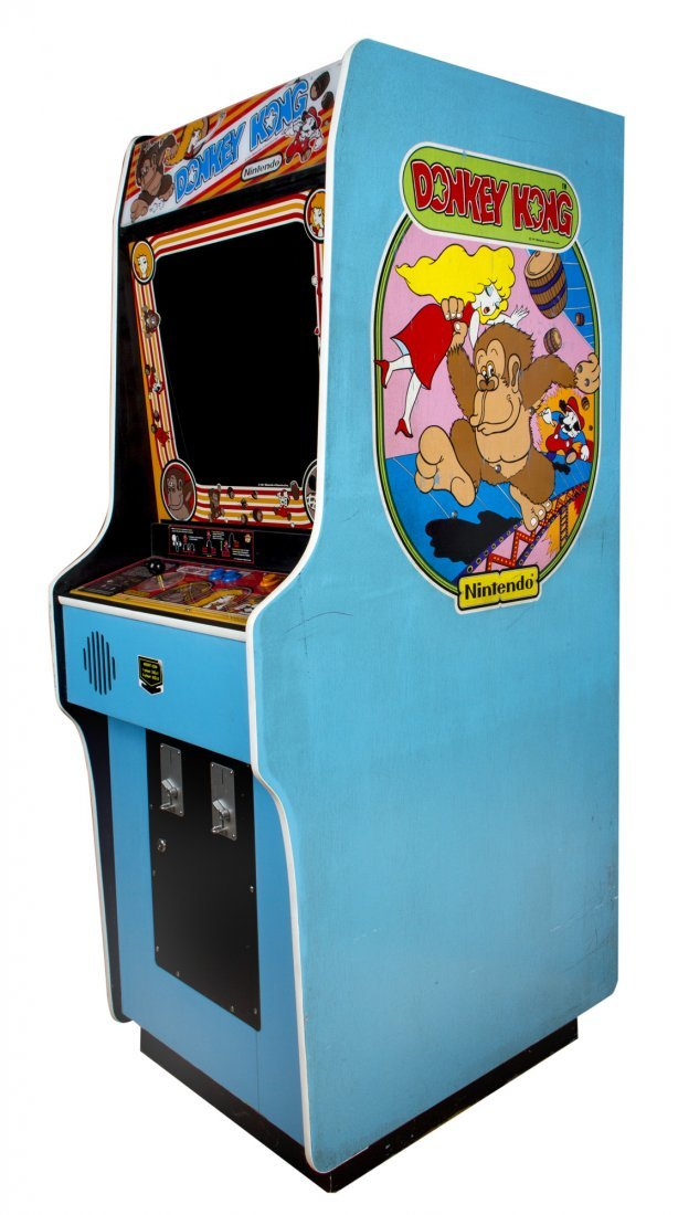 Donkey Kong Working Arcade Game Console from Pixels - 2