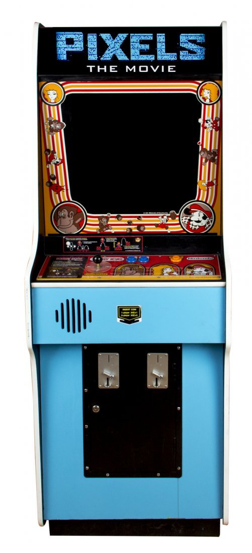 Donkey Kong Working Arcade Game Console from Pixels - 4