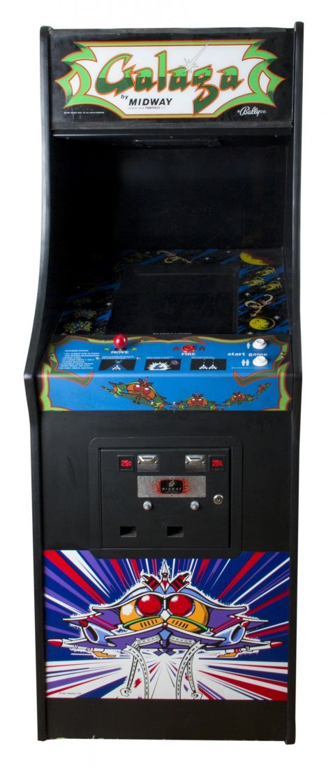 Galaga Screen-used Working Arcade Game Console from