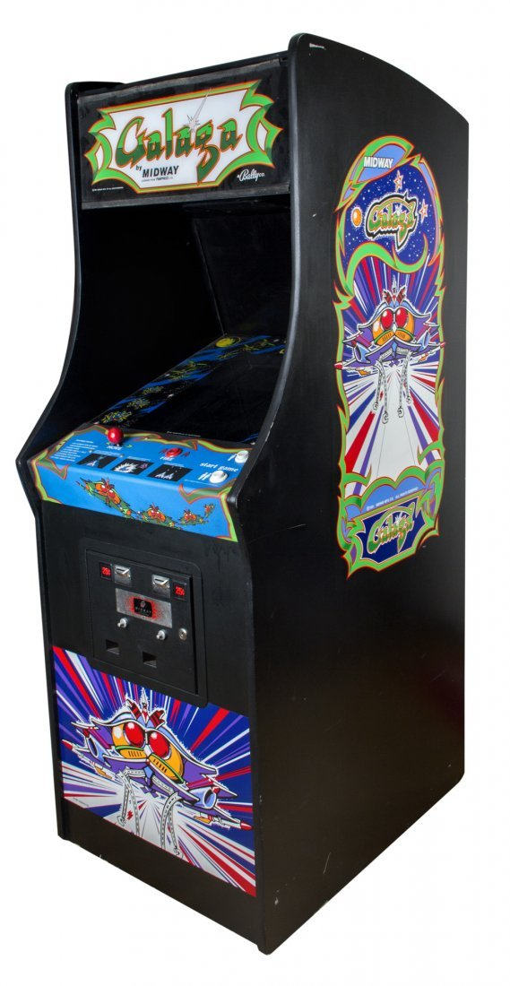 Galaga Screen-used Working Arcade Game Console from - 2