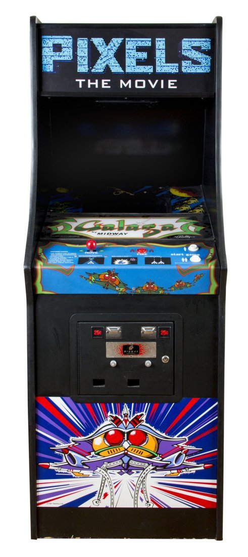 Galaga Screen-used Working Arcade Game Console from - 4