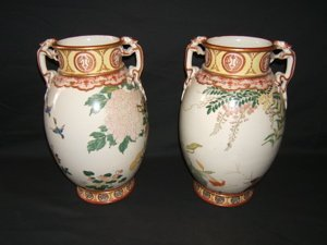 21: Antique Chinese Export Urns