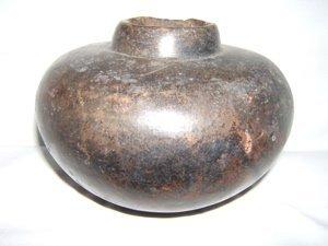 408: Pre-Columbian Plum Bate Vessel