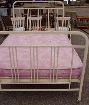 Antique German Metal Bed