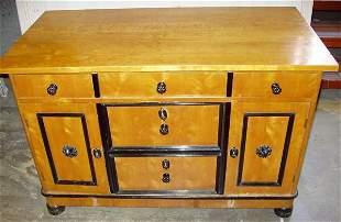 Antique Satin Wood Dresser