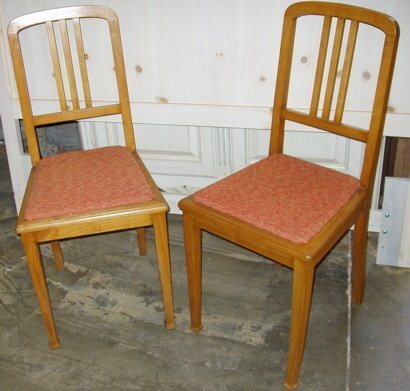 11: Antique Satin Wood Bedroom Chairs