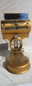 1: Antique Dayton Scale with Bevel Mirror 1913-1917