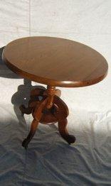 22: Antique Victorian Parlor Table