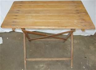 German Folding Table Rustic-Primitive