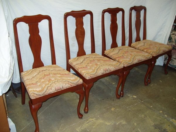 215: 4 Modern Dining Room Chairs