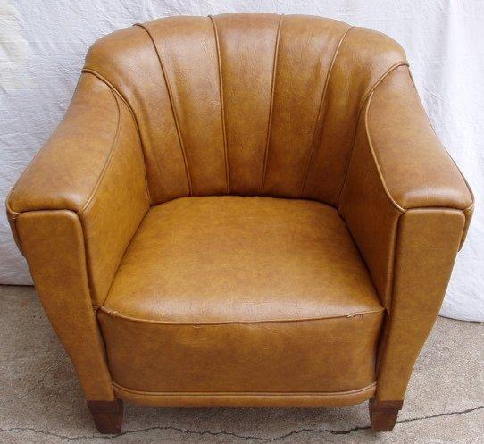 224: Antique European Club Chair