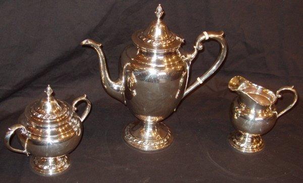 298: Gorham Sterling Silver Tea Set