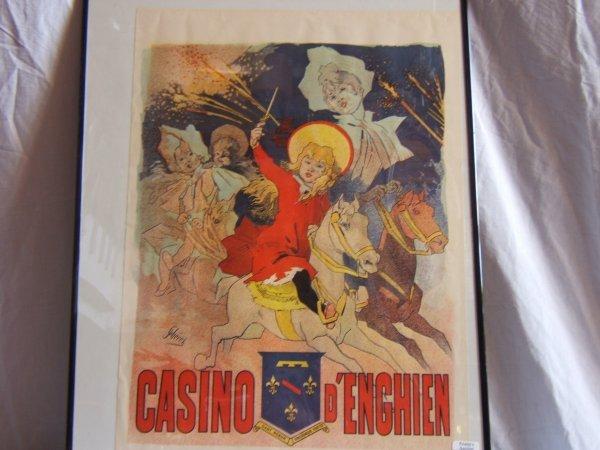 319: Casino D'Enghien Framed Poster