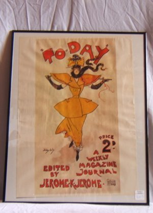 320: To-Day A Weekly Magazine Journal Framed Poster