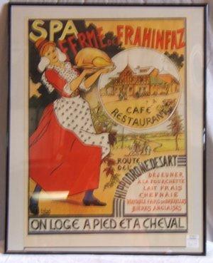 321: Spa Ffrme De Frahinfaz Framed Poster