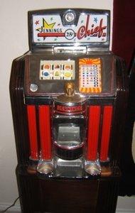 3: Antique Jennings Chief 25 Cent Slot Machine - 2