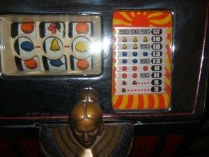 3: Antique Jennings Chief 25 Cent Slot Machine - 8