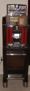 3: Antique Jennings Chief 25 Cent Slot Machine - 9