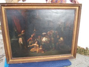 6: Antique European Painting by Muetimer(?)