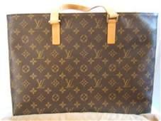153: Louis Vuitton Brown Tote