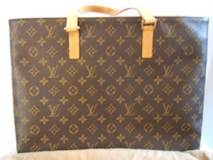 153: Louis Vuitton Brown Tote