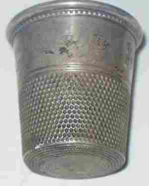 Large Silver Thimble