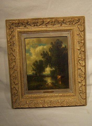 2: Antique William Hart Painting