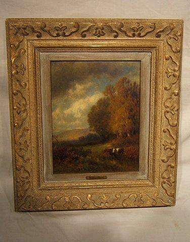 3: Antique William Hart Painting
