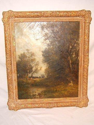 4: Antique William Hart Painting