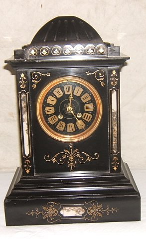 7: Antique Victorian Style Marble Clock