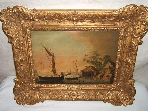 1: Antique Painting by C. H. J. Lieckert