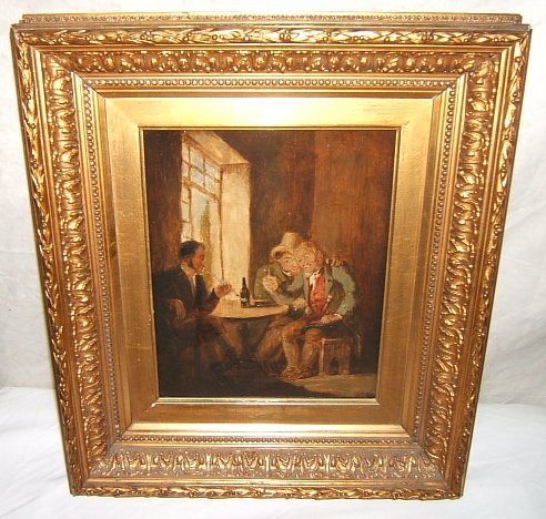 3: 18th Century Antique Dutch Painting by Garse