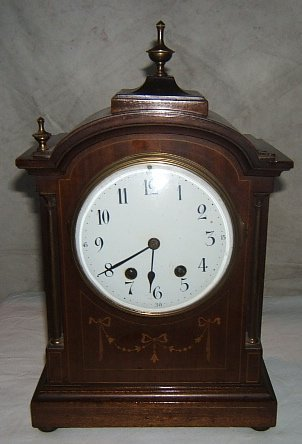 4: Antique French Mantle Clock